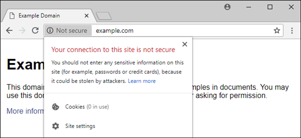 How to Fix Website is Not Secure Error in Chrome - Support.com